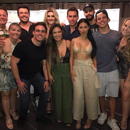 Simone e Simaria fizeram show em Miami com a presença de celebridades brasileiras na plateia - Reprodução/Instagram/simoneesimaria