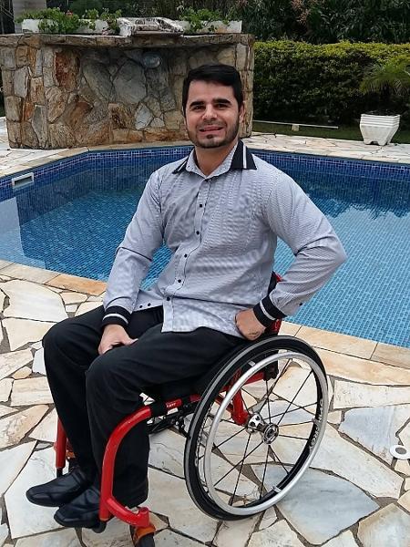 Thiago Cenjor ficou paraplégico ao levar um tiro em uma tentativa de assalto em São Bernardo do Campo (SP) - Reprodução/Instagram