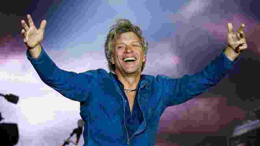 Jon Bon Jovi, vocalista do Bon Jovi, uma das atrações do Rock in Rio 2019 - Marco Antonio Teixeira/UOL