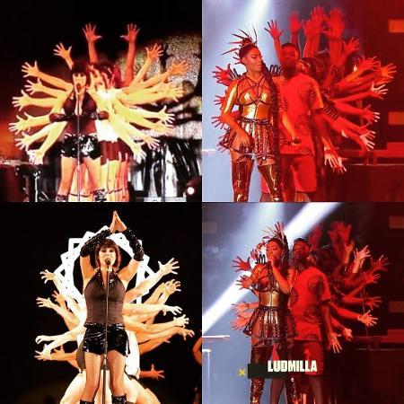 Fernanda Abreu compara sua apresentação no Rock in Rio com a performance de Ludmilla no Prêmio Multishow - Reprodução/Instagram