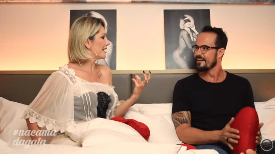 Antonia Fontenelle entrevista Paulo Vilhena - Reprodução/YouTube