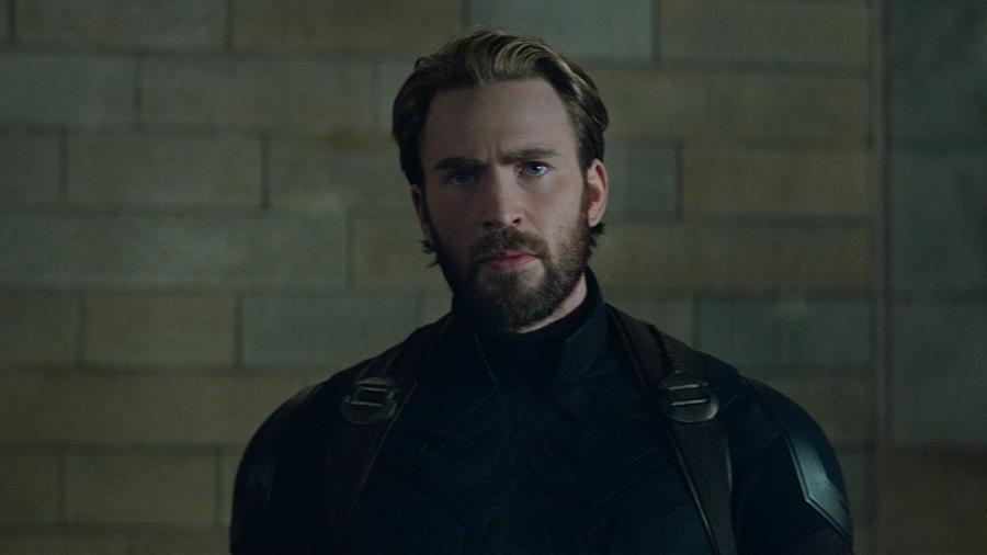 """Chris Evans em """"Vingadores: Guerra Infinita"""" - Reprodução"""