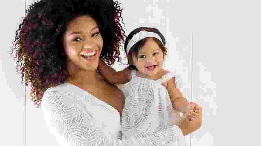 Juliana Alves e sua filha, Yolanda - Reprodução/Instagram