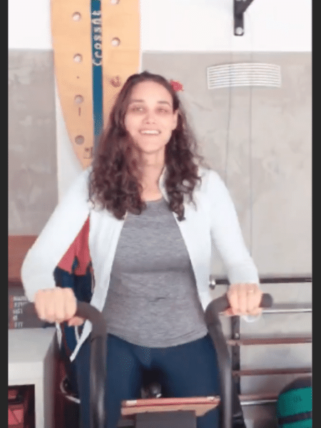 Débora Nascimento volta a malhar - Reprodução/Instagram
