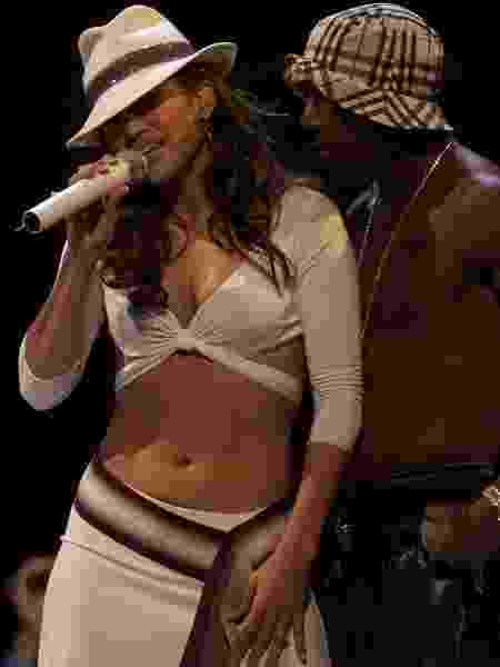 Jennifer Lopez e Ja Rule 2001 - Scott Gries/ImageDirect/Getty Images - Scott Gries/ImageDirect/Getty Images