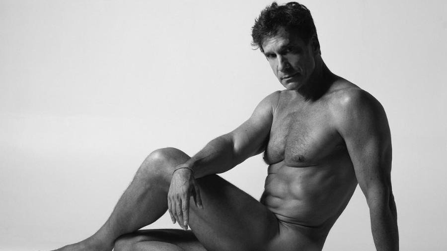 Victor Fasano posa nu para o Pele Project, de Brunno Rangel - Pele Project/Brunno Rangel/Instagram