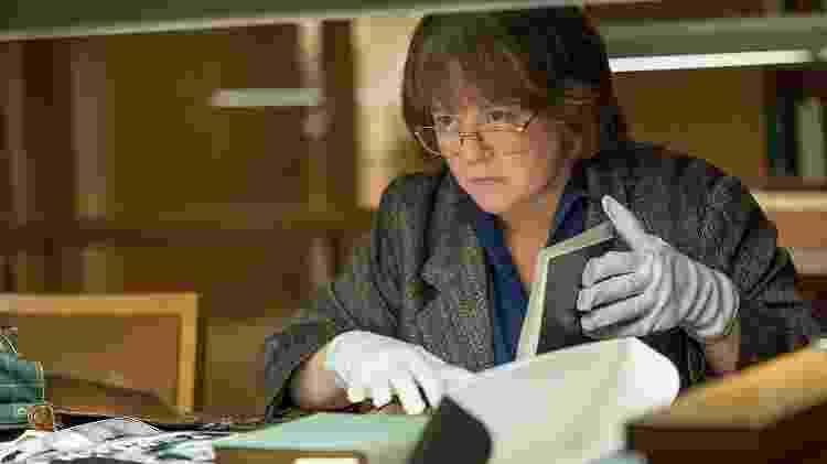"""Melissa McCarthy em cena de """"Can You Ever Forgive Me?"""" - Divulgação - Divulgação"""