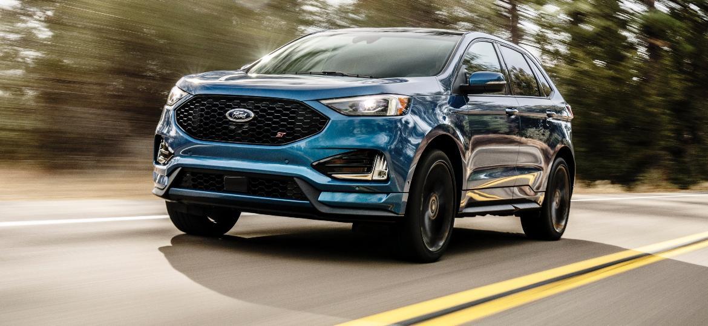 """Ford Edge ST 2019 é um dos poucos modelos a ligar """"velha"""" e """"nova"""" Ford - Divulgação"""