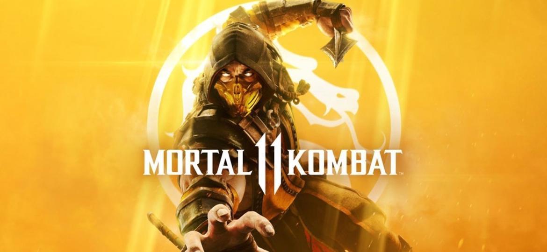 """Scorpion é o destaque na arte da capa de """"Mortal Kombat 11"""" - Divulgação"""