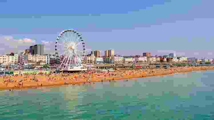 Brighton, na Inglaterra - dneelanjan/Getty Images/iStockphoto - dneelanjan/Getty Images/iStockphoto