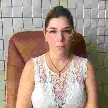 Ameaçada, Julia diz ter medo de ataques - Arquivo pessoal