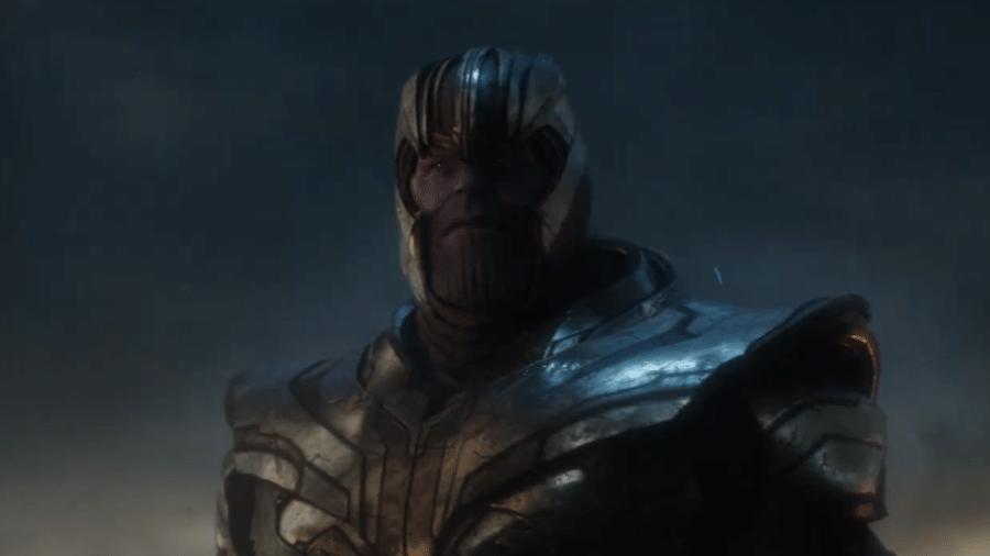 """Thanos (Josh Brolin) em """"Vingadores: Ultimato"""" - Reprodução/YouTube"""