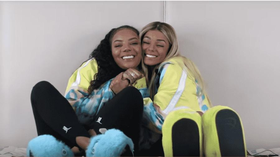 Ludmilla e a namorada, Brunna Gonçalves - Reprodução/YouTube