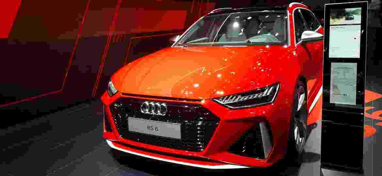 RS6 Avant acaba de ser renovada e é estrela da Audi no Salão - Vitor Matsubara/UOL