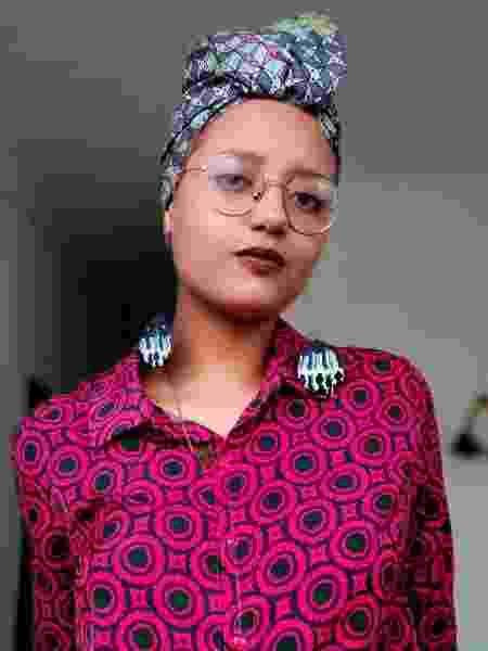 Eloysa diminuía contraste para foto ficar embaçada e mais clara; hoje, valoriza sua beleza afro - Arquivo Pessoal