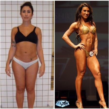 O antes e o depois de Jaque Khury - Reprodução/ Instagram