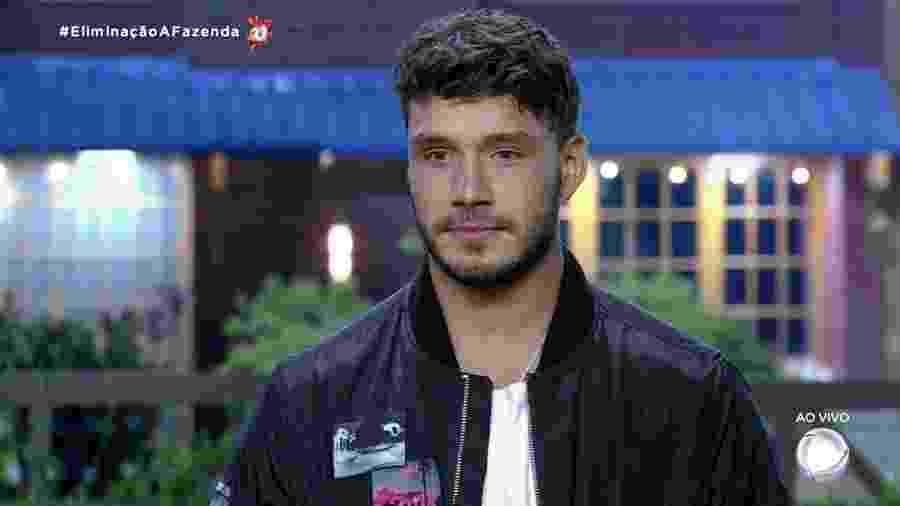 Lucas Viana na Fazenda 11 - Reprodução/RecordTV