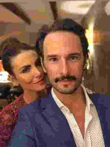 Rodrigo Santoro e a esposa, Mel Fronckowiak - Reprodução/Instagram