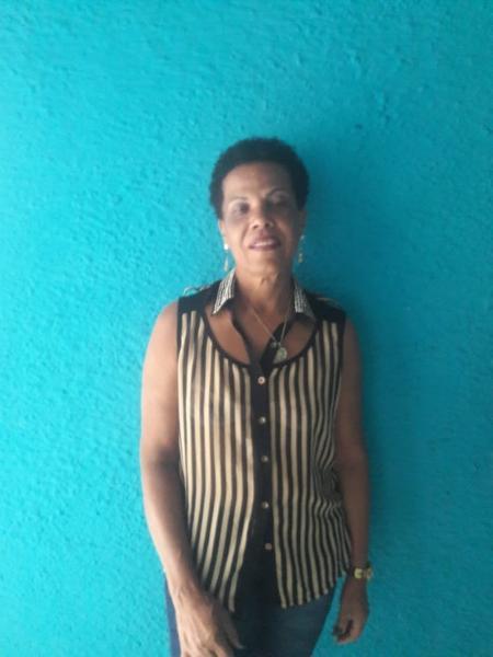 A auxiliar de serviços gerais Maria Lucia trabalha em hospital mas não consegue teste rápido para coronavírus - Arquivo pessoal