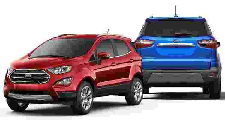 Ford EcoSport EUA - Divulgação - Divulgação