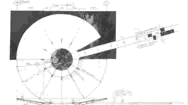 Sketch do projeto para o Memorial Mundial da Pandemia - Divulgação - Divulgação