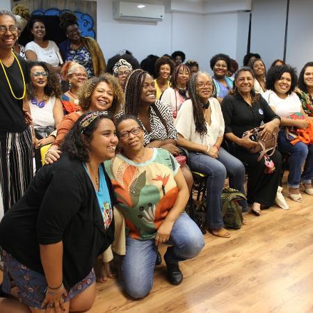 Mulheres durante evento no Instituto Marielle Franco  - Arquivo Pessoal