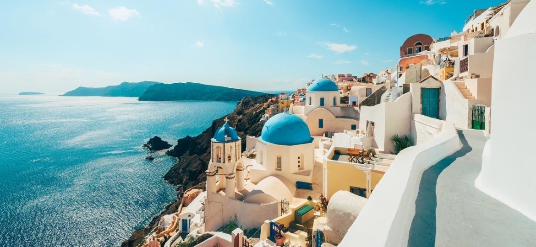 """Grécia, um dos países a adotar o """"passaporte de vacina"""" na recuperação de seu turismo - Getty Images"""