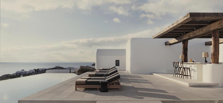 Kalesma, novo hotel com inauguração no mês de abril em Mykonos, na Grécia - Divulgação