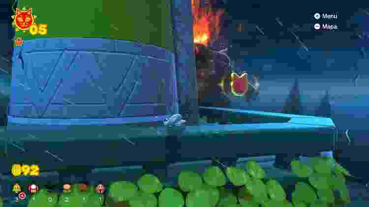 Super Mario 3D World: Bowser's Fury Torre - Daniel Esdras/GameHall - Daniel Esdras/GameHall