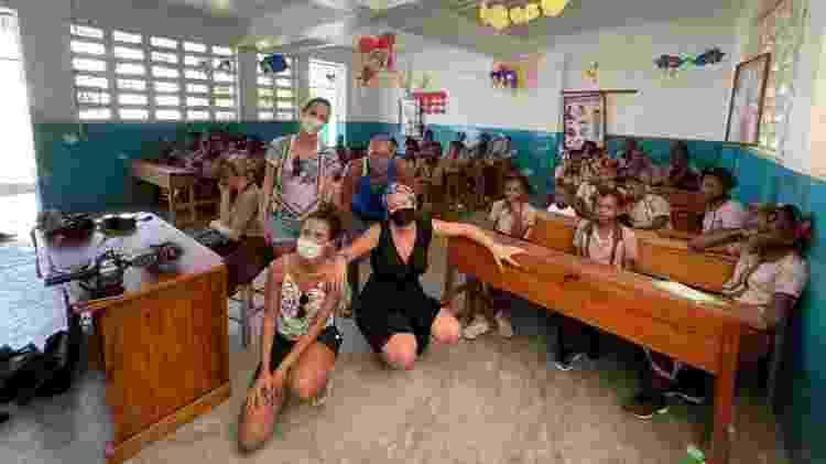 Visita ao Haiti - Arquivo pessoal - Arquivo pessoal