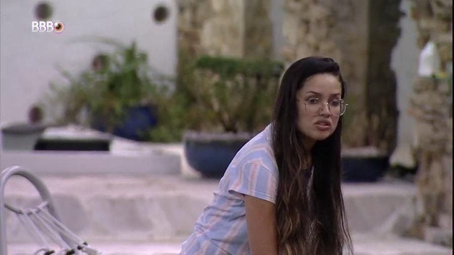 """BBB 21: Juliette fala sobre """"fazer casal"""" com Rodolffo - Reprodução/Globoplay"""