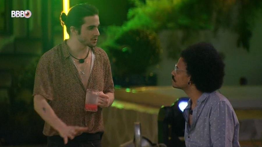 BBB 21: Fiuk e João Luiz conversam sobre os rumos do jogo - Reprodução/Globoplay