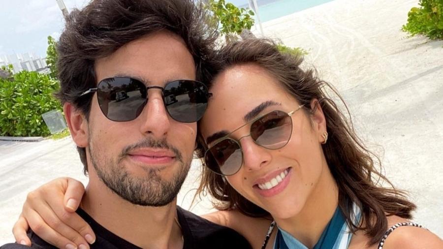Julinho Cesares e Lara Silva - Reprodução/Instagram