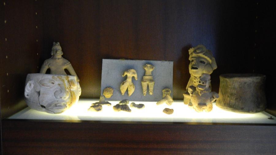Peças arqueológicas devolvidas ao México pela Alemanha - Reprodução/Twitter