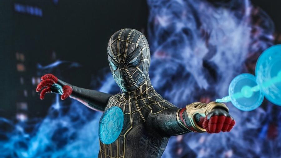 """Um novo colecionável do filme """"Homem-Aranha: Sem Volta Para Casa"""" mostra os novos poderes de Peter Parker - Divulgação/Hot Toys"""