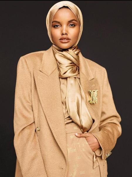 Americana de origem somali, Halima Aden diz que dar espaço às muçulmanas na moda significa valorizá-las - Reprodução/Instagram