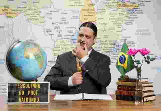 Lúcio Mauro Filho faz uma homenagem ao pai, Lúcio Mauro, ao interpretar Aldemar Vigário. O aluno adora resgatar histórias do passado de Raimundo em Maranguape  - João Miguel Júnior/TV Globo