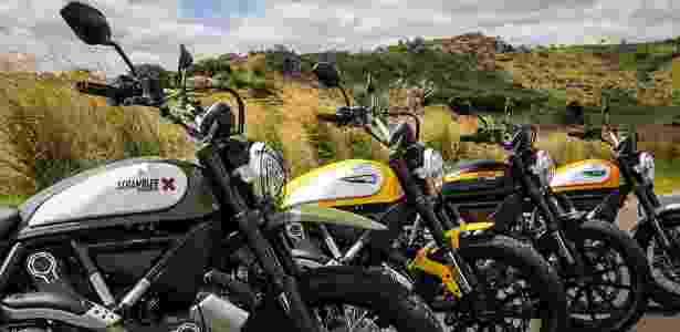 Ducati Scrambler é vendida em quatro versões no Brasil; todas usam mesmo motor - Infomoto - Infomoto