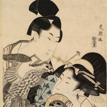 """Exposição """"A Third Gender: Beautiful Youths in Japanese Prints"""" abre discussão sobre a questão de gênero no Japão durante o Período Edo - Divulgação"""