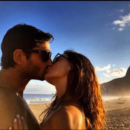 Isis Valverde e o namorado, André Resende - Reprodução/Instagram isisvalverde