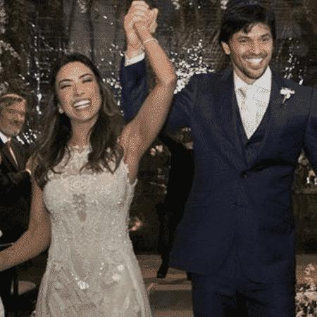 Patrícia Abravanel e Fabio Faria - Reprodução/Instagram
