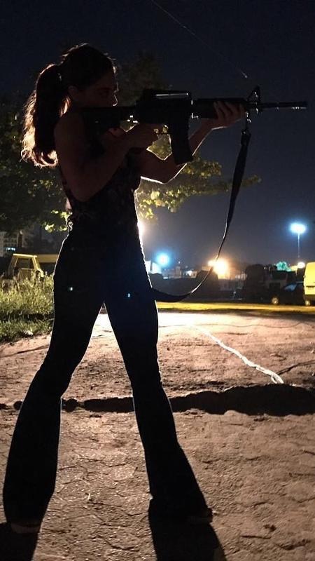 """Glória Perez mostra Bibi (Juliana Paes) transformada em """"A Força do Querer"""" - Reprodução/Instagram"""