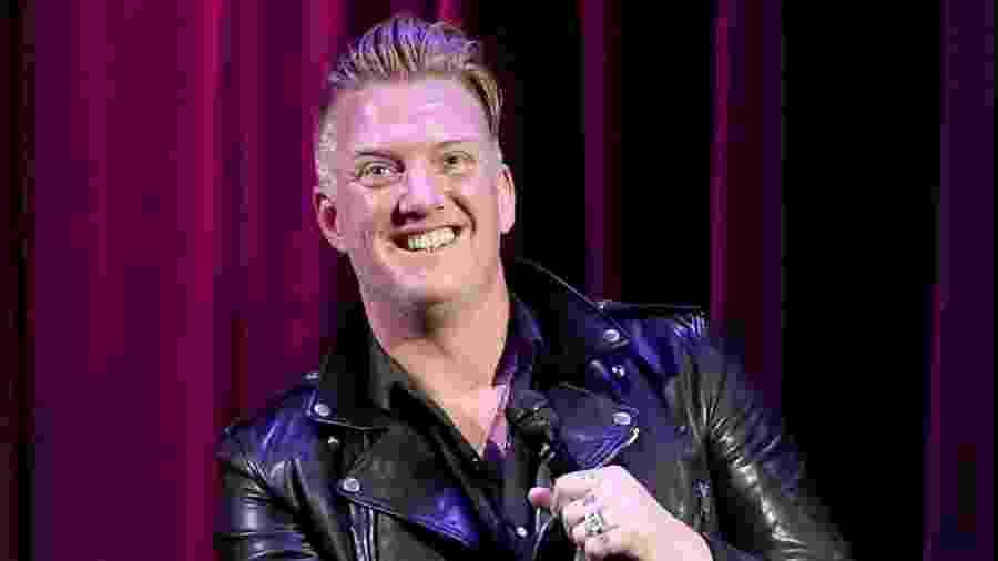 O vocalista Josh Homme, do Queens of the Stone Age - Getty Images