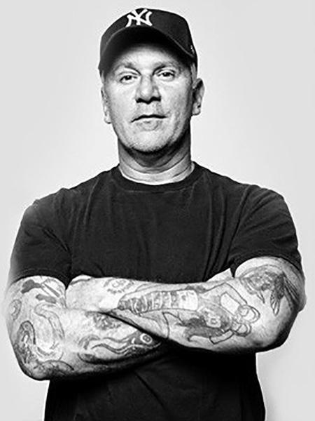 CJ Ramone, ex-baixista do Ramones - Divulgação