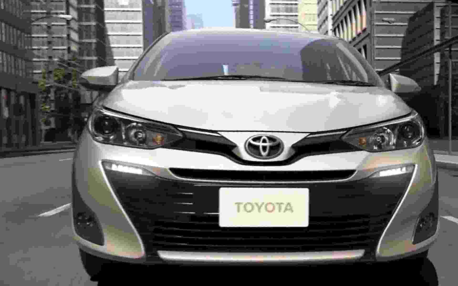 Toyota Yaris Sedan - Divulgação