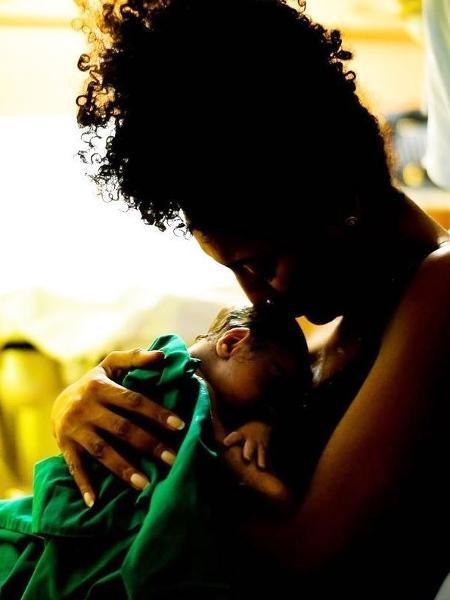 Sheron Menezzes anuncia nas redes sociais o nascimento do primeiro filho - Reprodução/Instagram
