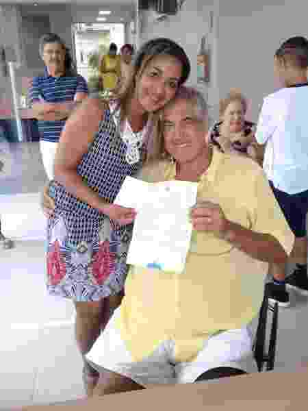 Montanha e Silvia Cristiane se casaram em 20 de janeiro - Reprodução/Facebook - Reprodução/Facebook