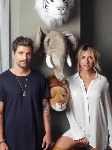 Bruno Gagliasso e Gio Ewbank mostram seu apê para revista - Divulgação/Casa Vogue