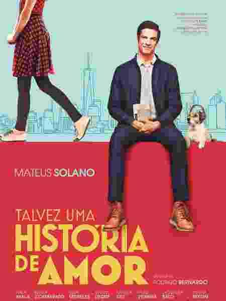 """Pôster do filme """"Talvez Uma História de Amor"""" - Fernando Pereira/Divulgação"""
