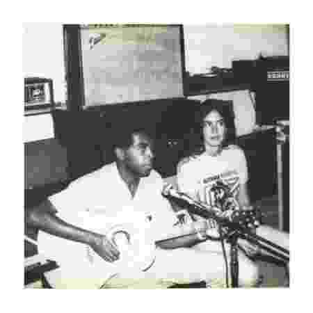 Gil e Flora, ainda jovens, nos anos 80 - Arquivo pessoal